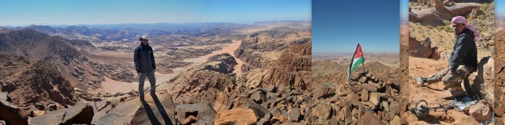Hike Jordan's tallest mountain (1,854 m, 6,083 ft.): Jebel Adami
