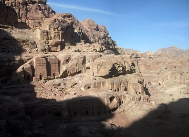 25a Petra High Place of Sacrifice Trail - Magnificent Views from the Trail