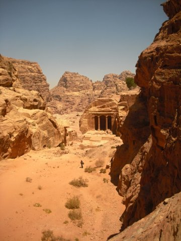 31 Petra High Place of Sacrifice Trail - The Garden Hall