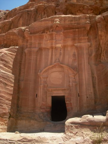 32 Petra High Place of Sacrifice Trail - The Renaissance Tomb