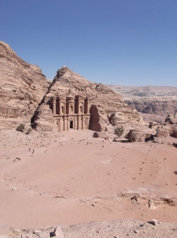 36 Petra High Place of Sacrifice Trail - The Monastery
