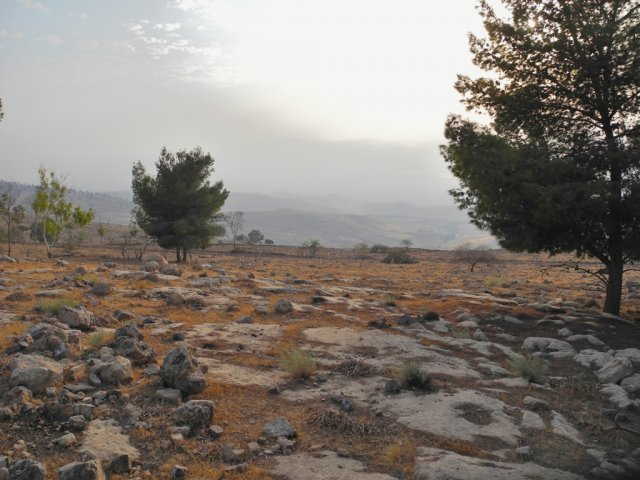 06 Pella Mountain Trail - A View of the Jordan Valley Seen from Jebel Sabarta
