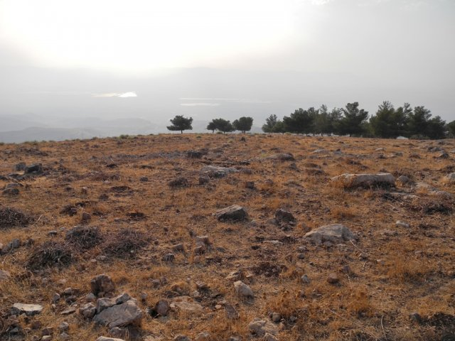 14 Pella Mountain Trail - A View of the Jordan Valley Seen from Jebel Sabarta