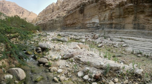 20 Wadi Assal - A View of the Wadi