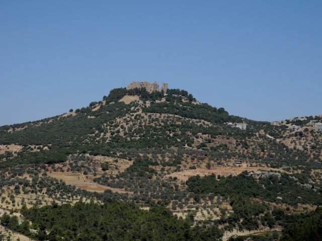 10 Ajloun Castle Circuit -View of the Castle from the Valley