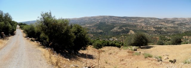 02 Ajloun Castle Trail - Panorama