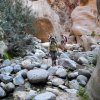 17 Wadi Ghuweir Trail to Feynan - On Our Way to the Oasis